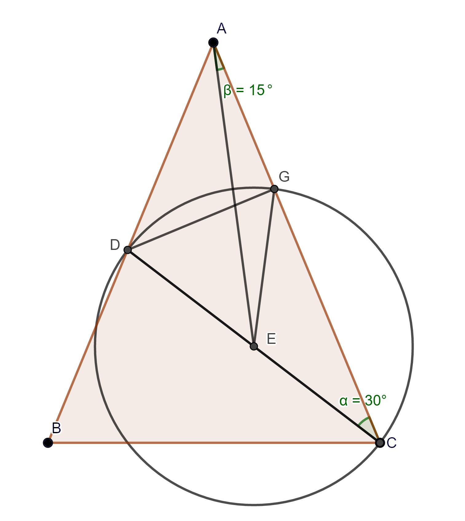با محاسبه، اندازه زاویه مورد نظر به راحتی بدست می آید.